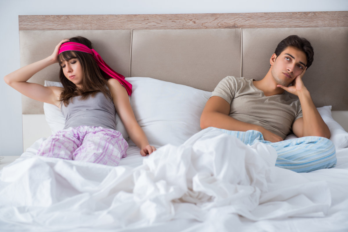 What to do if one spouse doesn't want to have sex
