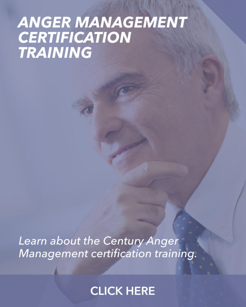 Anger Management Certification Training